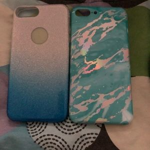 Two IPhone 7/8 plus Cases For Sale.